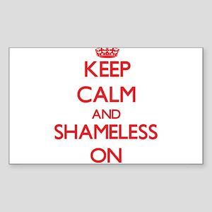 Keep Calm and Shameless ON Sticker