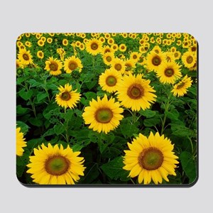 Field of Sunflowers Mousepad