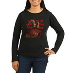 Satan's Agent Women's Long Sleeve Dark T-Shirt