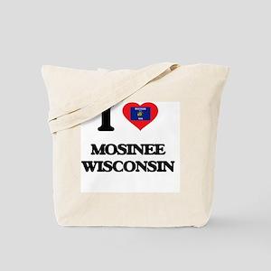 I love Mosinee Wisconsin Tote Bag