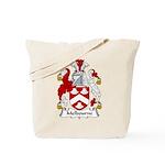 Melbourne Family Crest Tote Bag