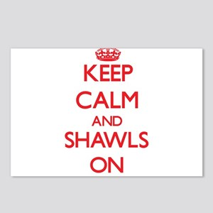 Keep Calm and Shawls ON Postcards (Package of 8)
