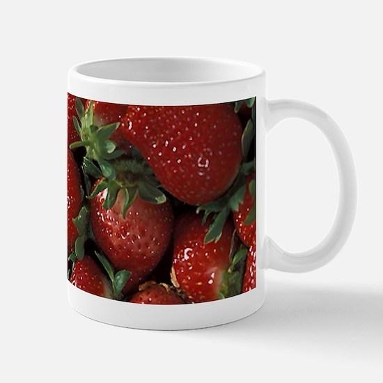 Bushel of Strawberries Mugs