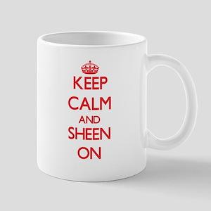 Keep Calm and Sheen ON Mugs