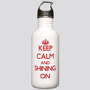Keep Calm and Shining Stainless Water Bottle 1.0L