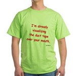 Duct Tape Green T-Shirt