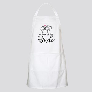 Mother of the Bride - Bird Couple Apron