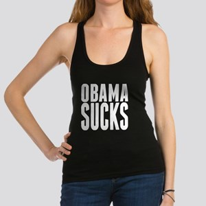 Obama Sucks Racerback Tank Top