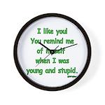 I like you! Wall Clock