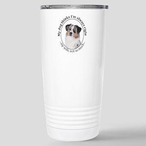 Aussie v Wife Travel Mug