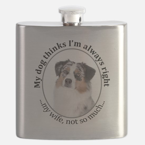 Aussie v Wife Flask