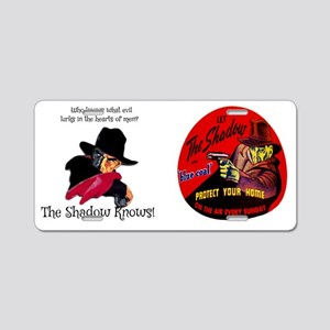 THE SHADOW - OLD TIME RADIO Aluminum License Plate