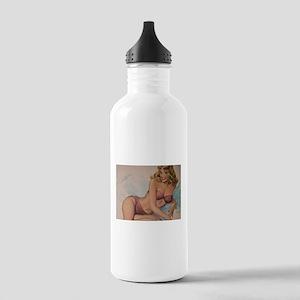 Pinup Girl Water Bottle