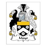 Mayo Family Crest Small Poster
