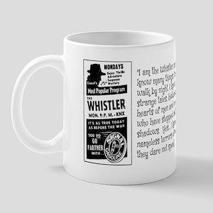 THE WHISTLER - OLD TIME RADIO Mug