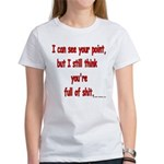 I see your point... Women's T-Shirt
