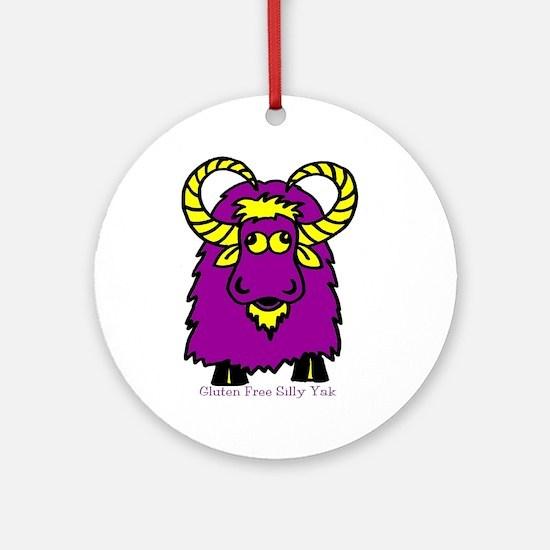 SillyYak CD Awareness Ornament (Round)