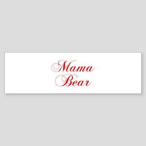 Mama Bear-Cho red 300 Bumper Sticker