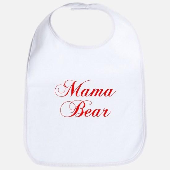 Mama Bear-Cho red 300 Bib