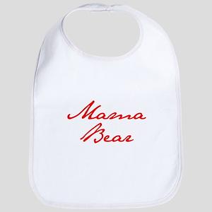 Mama Bear-Jan red 400 Bib