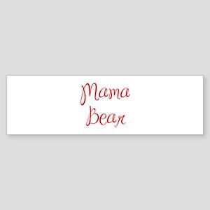 Mama Bear-MAS red 400 Bumper Sticker