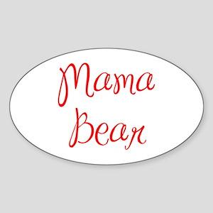 Mama Bear-MAS red 400 Sticker