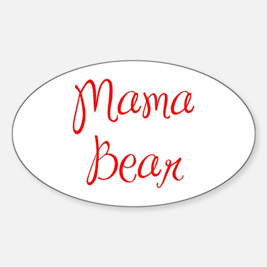 Mama Bear-MAS red 400 Decal