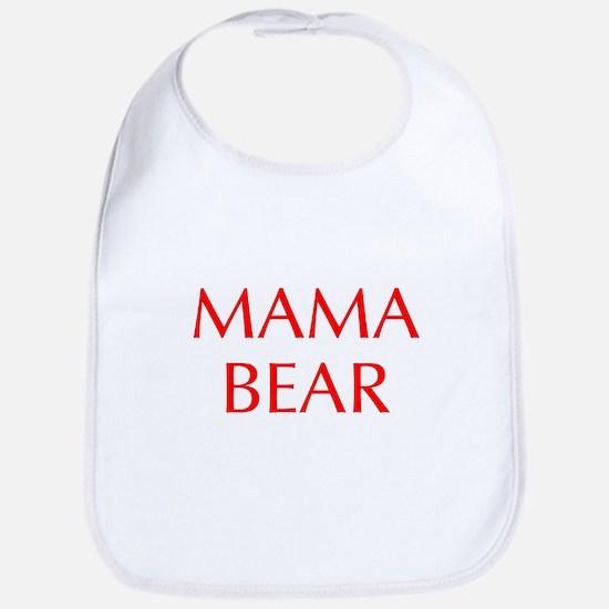 Mama Bear-Opt red 550 Bib