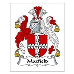 Maxfield Family Crest Small Poster