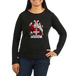 Maxfield Family Crest  Women's Long Sleeve Dark T-