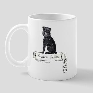 Brussels Griffon Banner Mug