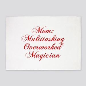 Mom Multitasking Overworked Magician-Cho red 300 5