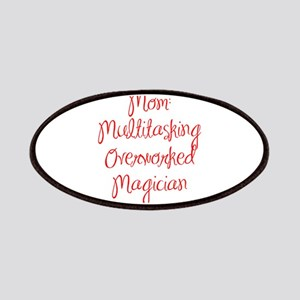 Mom Multitasking Overworked Magician-MAS red 400 P