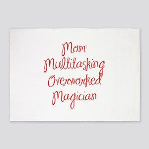 Mom Multitasking Overworked Magician-MAS red 400 5