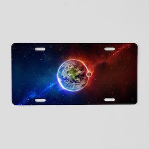 Amazing Universe Aluminum License Plate