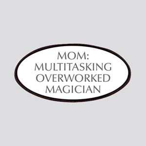 Mom Multitasking Overworked Magician-Opt gray 550