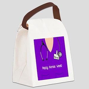 Happy Nurses Week Canvas Lunch Bag