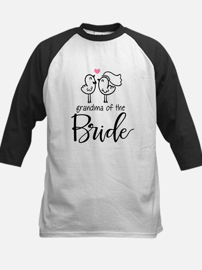 Grandma of The Bride Kids Baseball Jersey