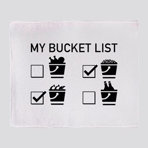 My Bucket List Stadium Blanket