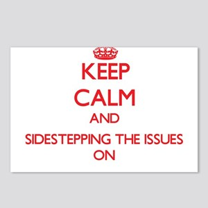 Keep Calm and Sidesteppin Postcards (Package of 8)