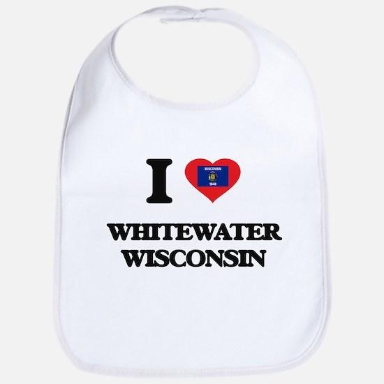 I love Whitewater Wisconsin Bib