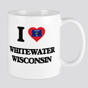 I love Whitewater Wisconsin Mugs