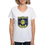 USS INGERSOLL Women's V-Neck T-Shirt