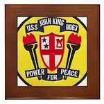 USS JOHN KING Framed Tile
