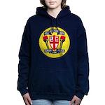 USS JOHN KING Women's Hooded Sweatshirt
