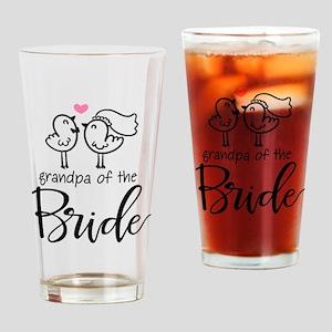 Grandpa of the Bride Drinking Glass