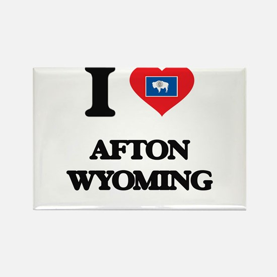I love Afton Wyoming Magnets