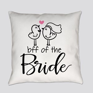 BFF of the Bride Everyday Pillow