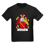 Marshall Family Crest Kids Dark T-Shirt