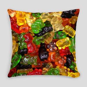 cute gummy bears Everyday Pillow